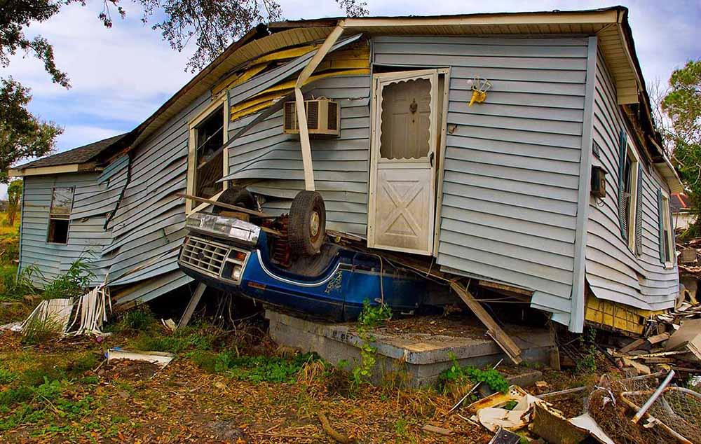 Storm Damage New Orleans